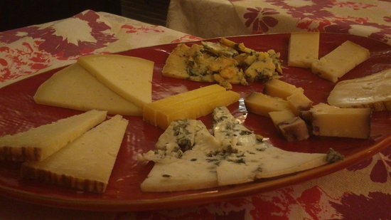 Locanda Madonna delle Vigne: La splendida selezione di formaggi