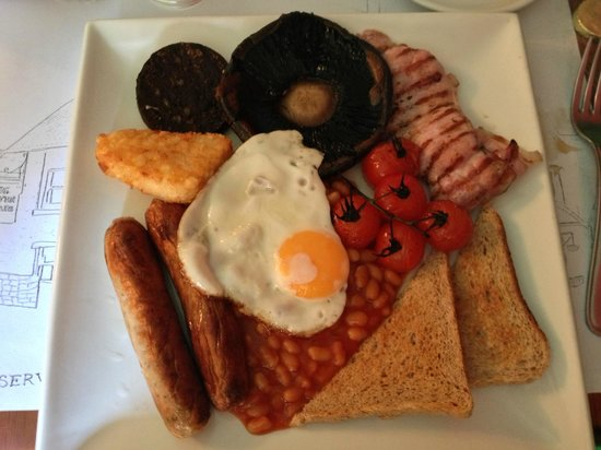 The Seven Stars: Brilliant Full English Breakfast