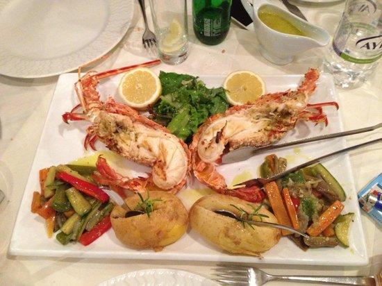 Lithos Restaurant Cafe: Лобстер