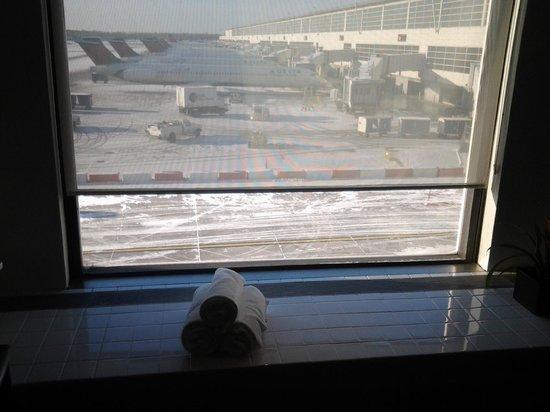 The Westin Detroit Metropolitan Airport : VIEW FROM GYM