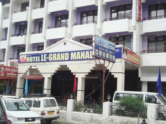 Le Grand: front of hotel