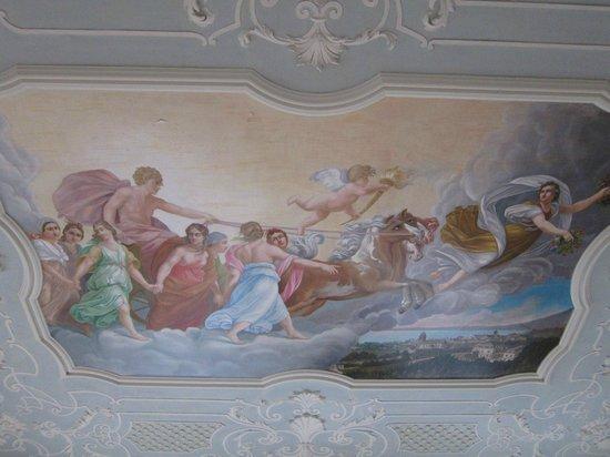 Villa Raczynski: Celiing
