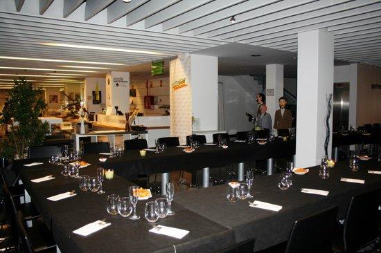Espai de Gastronomia Girones: Sala montada para grupos