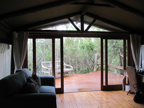 Sibuya Game Reserve & Tented Camp: View from the room