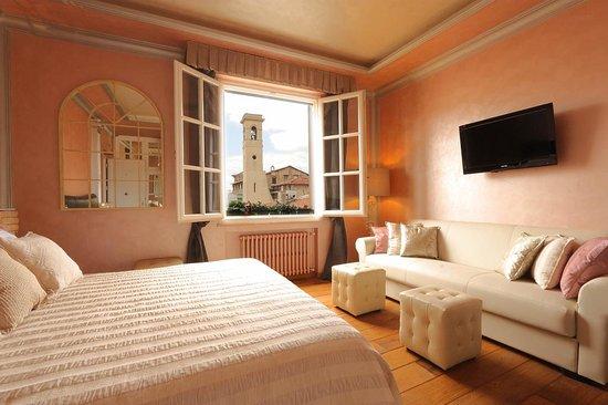 Mabelle Firenze Residenza Gambrinus: camera suite Vista città