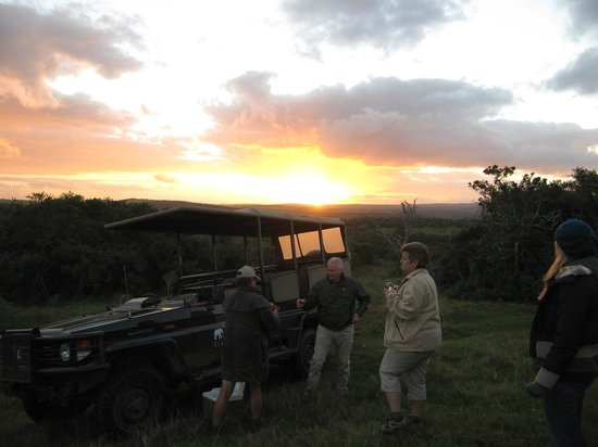 Sibuya Game Reserve: 4 -Star Luxury Tented Camps and Lodge: Sundowners