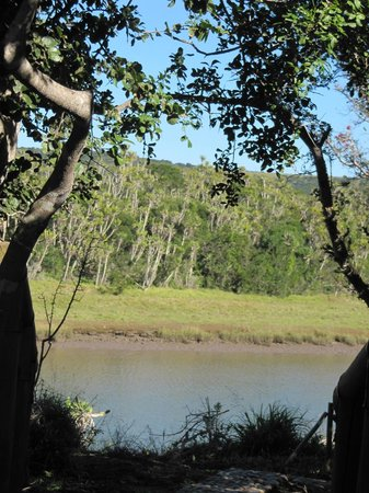 Sibuya Game Reserve: 4 -Star Luxury Tented Camps and Lodge: View from the room