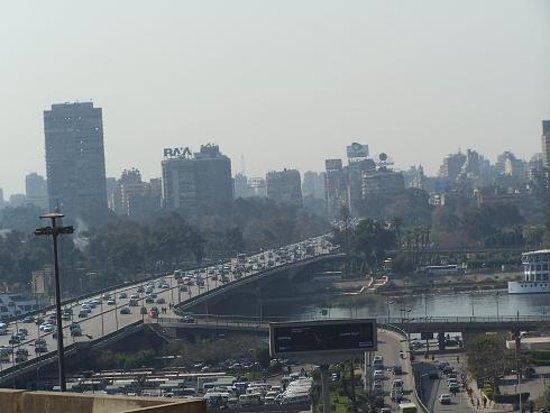 Wake UP Cairo Hostel: The view