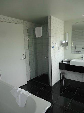 Radisson Blu Hotel, Malmo: Bathroom was very practical but boiling!