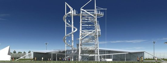 Oklahoma City Boathouse District: The SandRidge Sky Trail is the world's tallest adventure course.