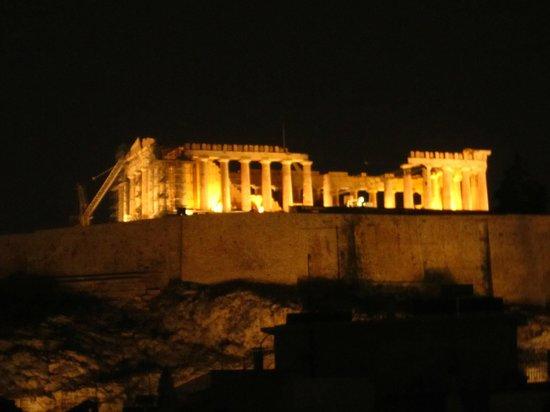 Divani Palace Acropolis: Acropolis by night