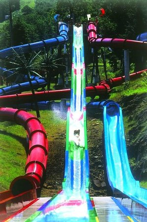 Camelbeach Mountain Waterpark: Come face-to-face with the six-story-tall Triple Venom!