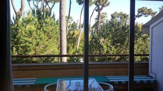 Augustus Hotel & Resort: balcony in the morning