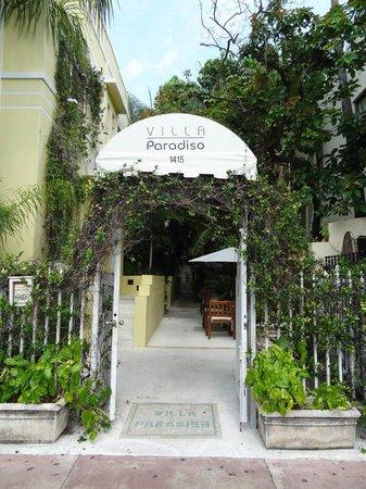 Villa Paradiso: Eingangsbereich
