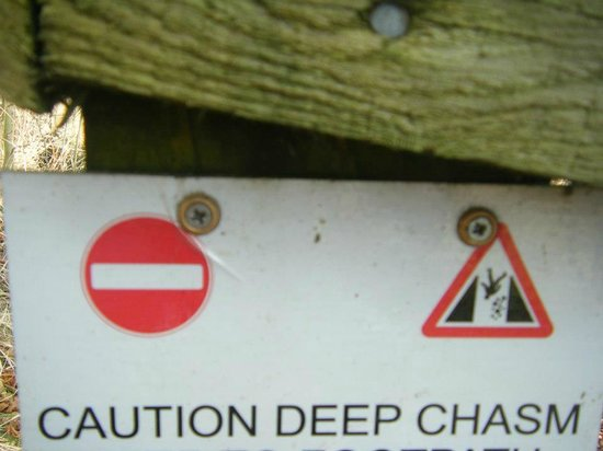 Cables B&B: Chasm's are deep within the local sceneary!