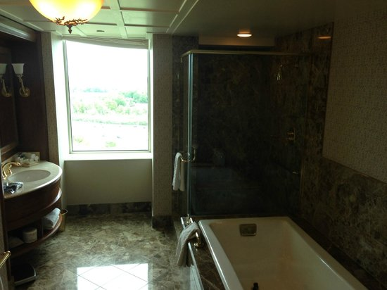 Hilton Lac-Leamy: Spacious Bathroom