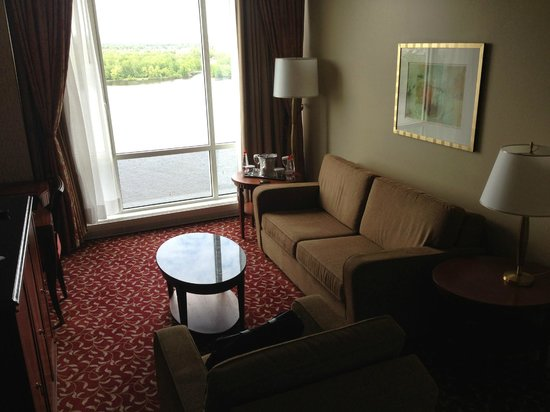 Hilton Lac-Leamy: Living area