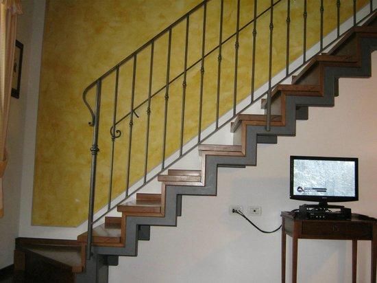 Casa Lari Relais : vista dal divano