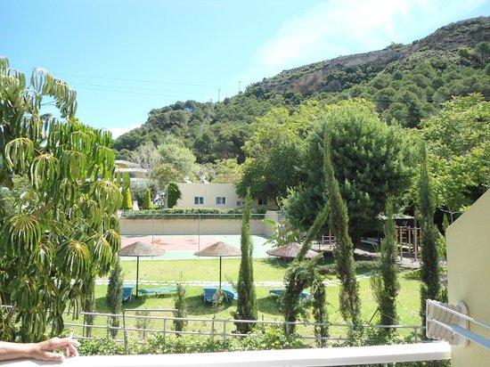 Blue Eyes Aparts-Hotel: udsigt til bjerge
