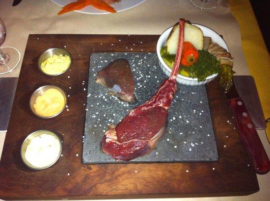 C'est la Vie: 鹿の肉のホットプレート