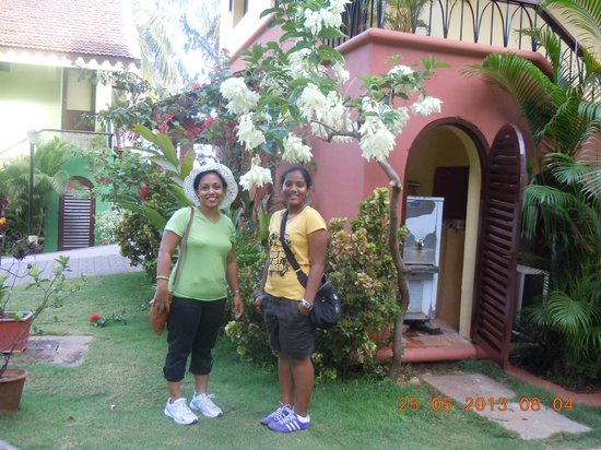 Miramar Residency: In front of the rooms