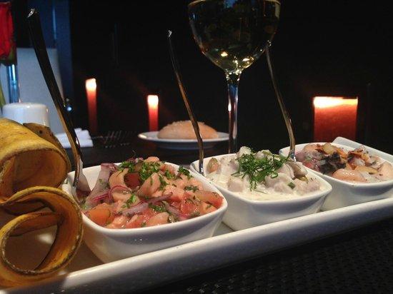 Le Meridien Panama: Latitudes Restaurant - Ceviche