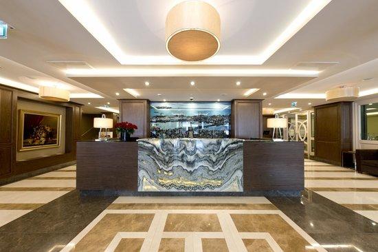 Nidya Hotel Galataport: reception