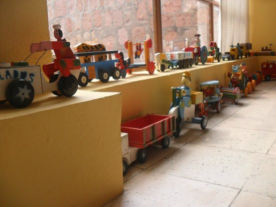 Casona Rosa, Morelia: Toy set decoration