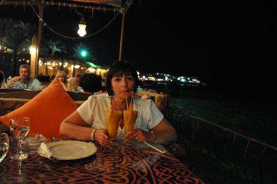 Ali Baba Restaurant: amazing mango drink