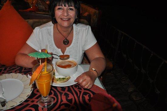 Ali Baba Restaurant: lovely food