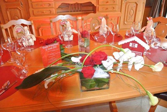 Hotel Macchi: Table des mariés