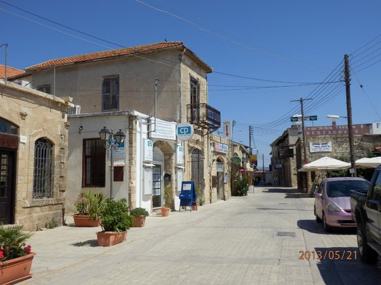 Mikis Taverna on the right of the photo