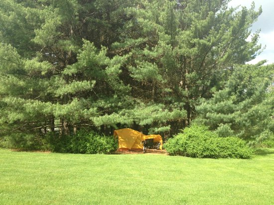 Kadampa Meditation Center New York and World Peace Temple: Kadampa Meditation Center- Camping Area