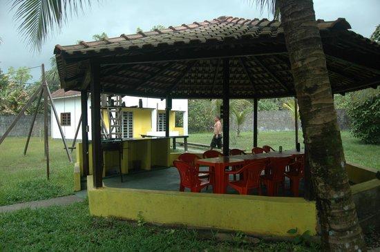 Pousada Manaus: Quiosque onde são servidas as refeições