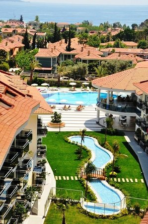 Montebello Resort: Pool and view