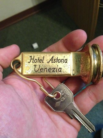 Hotel Astoria -TEMPORARILY CLOSED : room key