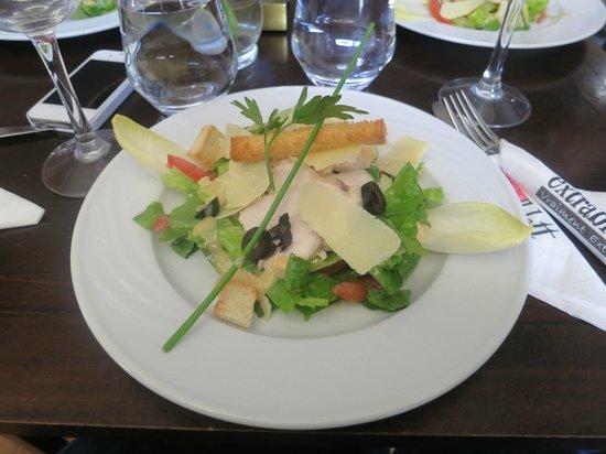Cafe Extrablatt: the ceasar salad