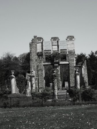 Holliday Park: The Ruins