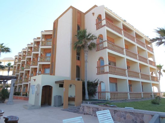 Playa Bonita Hotel: Our hotel tower, every room with a beach-front view!