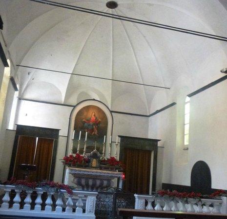Oratorio di Nostra Signora Assunta : Свод кьезы Ораторио