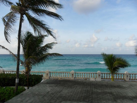 Dover Beach Hotel: the view from our room (201)
