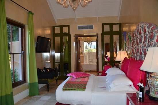 La Residence: One of the rooms of the villa