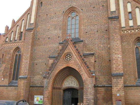 Sankt Marien Kirche: Eingangsportal