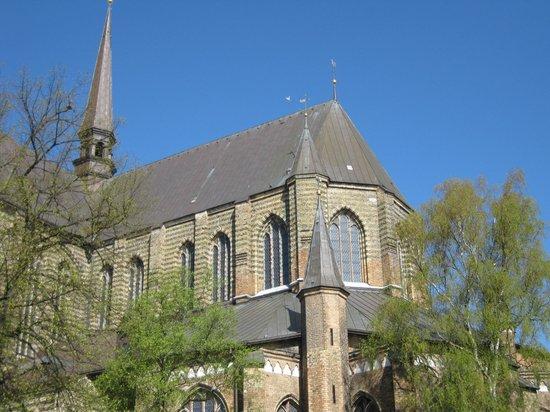 Sankt Marien Kirche: Vom Neuer Markt aus gesehen