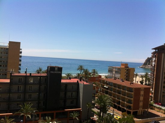 Apartamentos El Faro: View from 7th floor