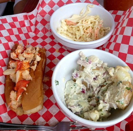 Freddy's Lobster & Clams: Lobster Meal