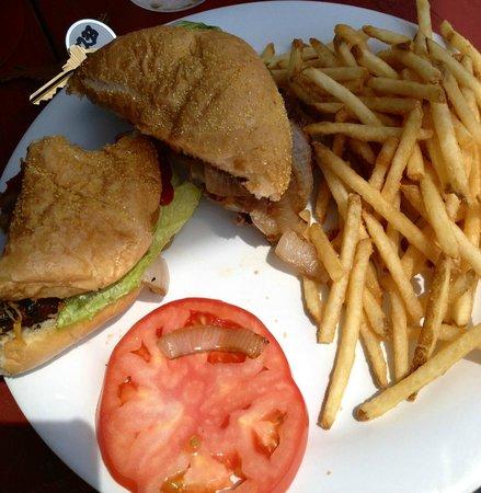 Freddy's Lobster & Clams: Burger