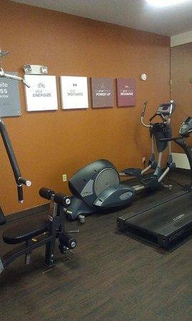 Comfort Suites Milledgeville: Fitness Center