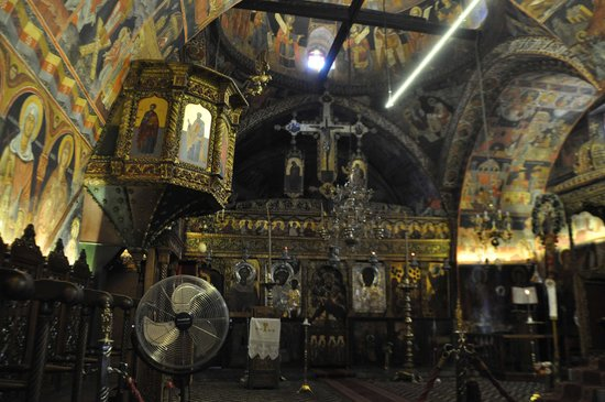 The Church of the Panagia : Interno