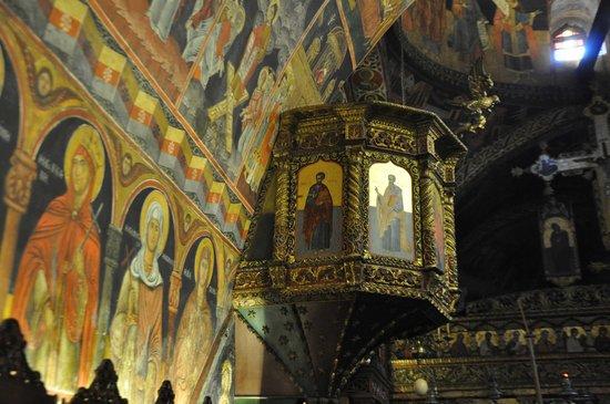 The Church of the Panagia : Il pulpito
